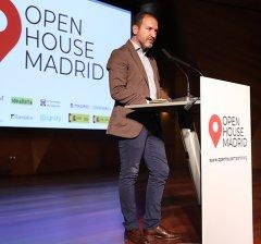 Mariano Fuentes clausura la entrega de los Premios Ciudad 2019 del festival de arquitectura Open House Madrid