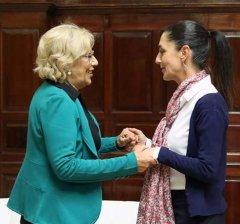 Madrid y Ciudad de México, dispuestas a reforzar su mutua colaboración