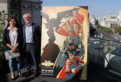 Superman, Batman y Wonder Woman escalan 'Metropolis' de la mano de Miller