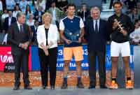 Manuela Carmena, en la final Mutua Madrid Open 2017